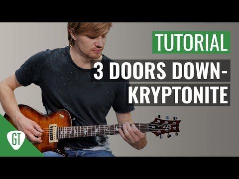 3 Doors Down - Kryptonite | Gitarren Tutorial Deutsch