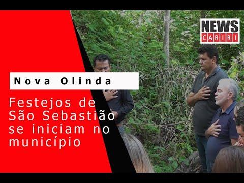 Nova Olinda abre, nesta sexta-feira, festejos do padroeiro São Sebastião