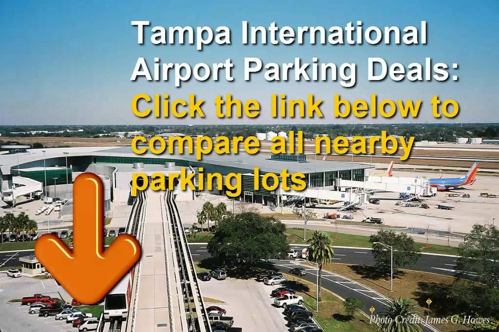 tampa international airport economy parking rates