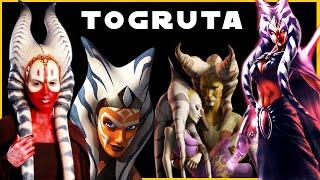 Togruta (Ahsoka & Shaak Ti) Species | Complete Breakdown | Star Wars Species