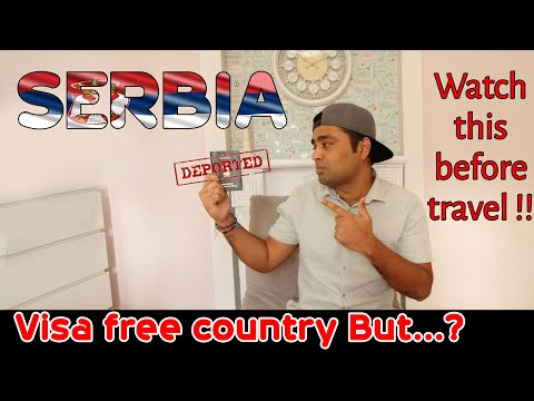 SERBIA Immigration Tips    VISA FREE European Country For Indians