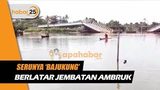 Lomba And39bajukungand39 Berlatar Jembatan Ambruk Meriahkan Hut Ri Ke-74