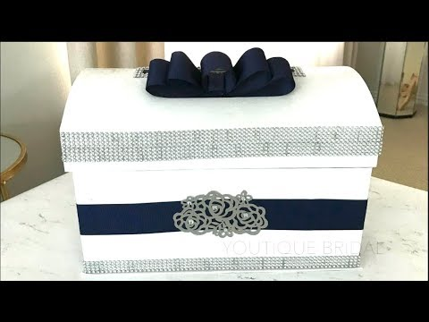 Diy Wedding Card Box Youtube