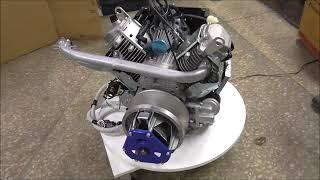 Двигатель LIFAN 2V78, 24 л.с., подготовленный для установки на Буран