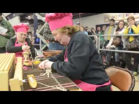 Sheep to Shawl at the Pa. Farm Show 2015