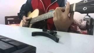 Thế giới giới ảo, tình yêu thật (demo) -Trịnh Đình Quang- cover guitar Michael Hau