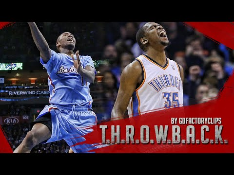 Jamal Crawford vs Kevin Durant Full Duel Highlights 2014.02.23 Clippers at Thunder - EPIC!