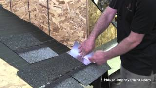 How To Shingle - Step Flashing