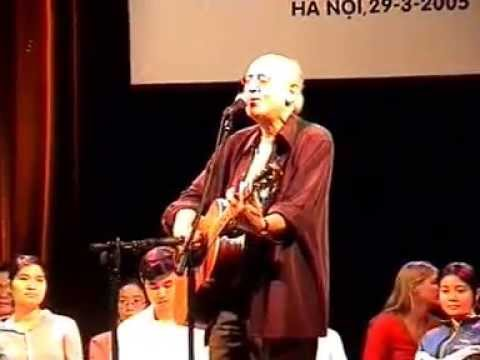 Peter Yarrow live in Hanoi (March 1995)