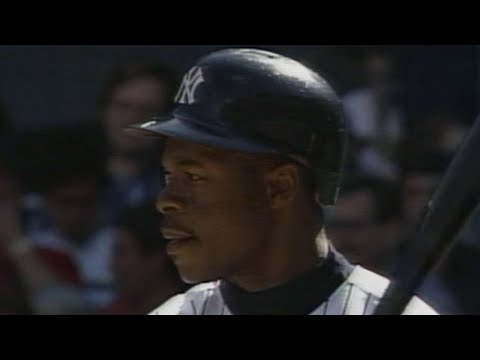 Tony Fernandez hits for the cycle in 1995