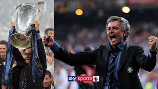 Jose Mourinho relives winning the 2010 Champions League with Inter Milan!