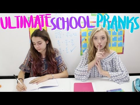 PRANKS to Pull at The END OF THE SCHOOL YEAR!   Sasha Morga