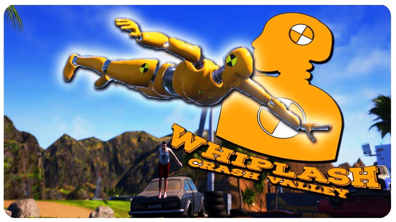 Ragdoll Crash Simulator! - Whiplash Crash Valley Gameplay Highlights ...