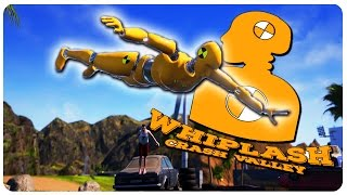 Ragdoll Crash Simulator! - Whiplash Crash Valley Gameplay Highlights | Funny Moments Part 1