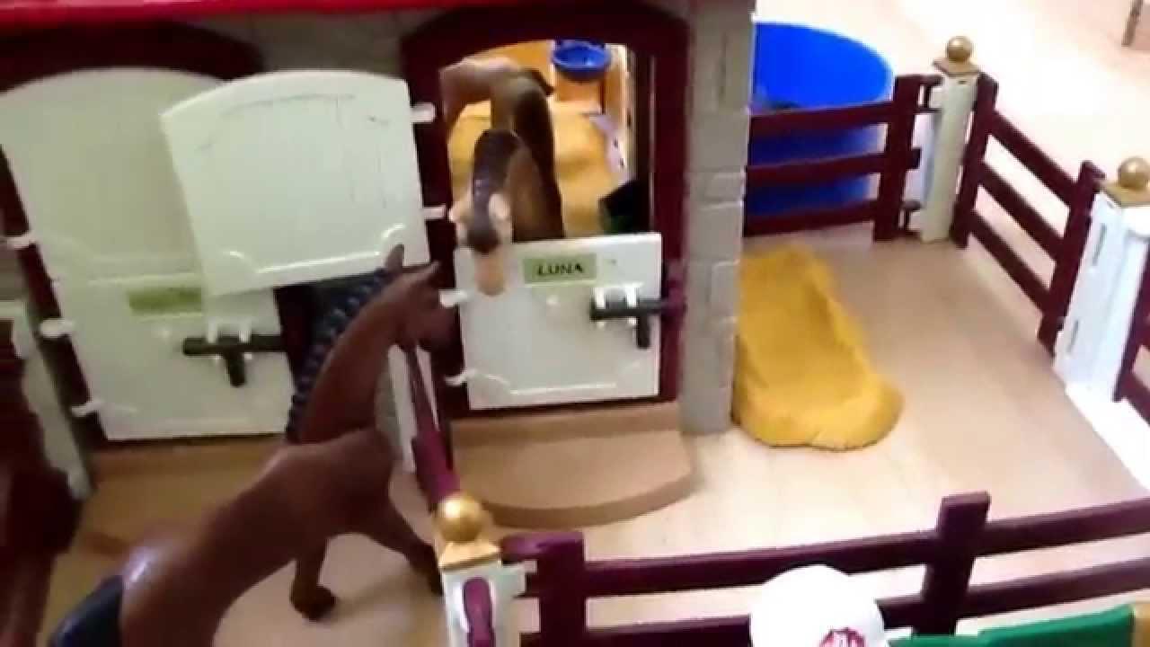 playmobil visite centre questre des trois chevaux par. Black Bedroom Furniture Sets. Home Design Ideas
