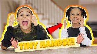 FamousTubeKIDS Tiny Hands Challenge!