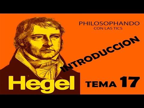 TEMA 18.2 HEGEL INTRODUCCION