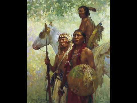 Native American (Plains Indians) tribute - paintings