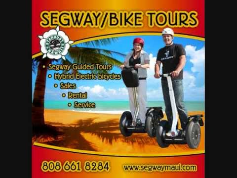 Segway Tour Lahaina Maui - the best way to see Hawaii