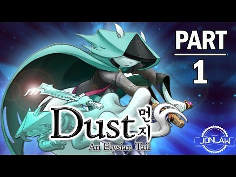 Dust An Elysian Tail Walkthrough Part 1 Intro - PS4 Let's Play Gameplay