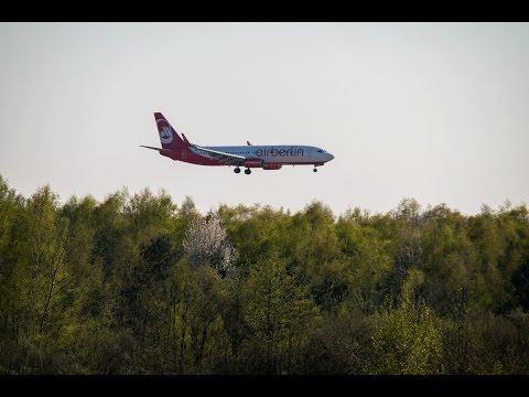 Start, Landung & Flug von Berlin nach Stuttgart / Flights from Berlin to Stuttgart (Germany) (HD)