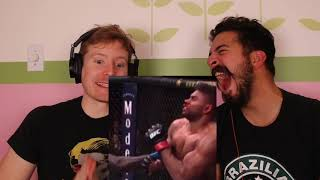 ROZENSTRUIK KNOCKING OUT ALISTAIR OVEREEM LIVE REACTION