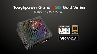 Thermaltake Toughpower Grand RGB Gold Power Supplies Introduction