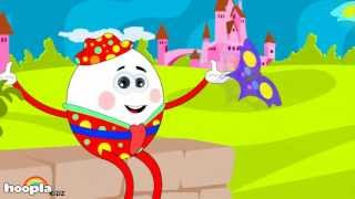 Humpty Dumpty-Lied | HooplaKidz Nursery Rhymes & Kids Songs