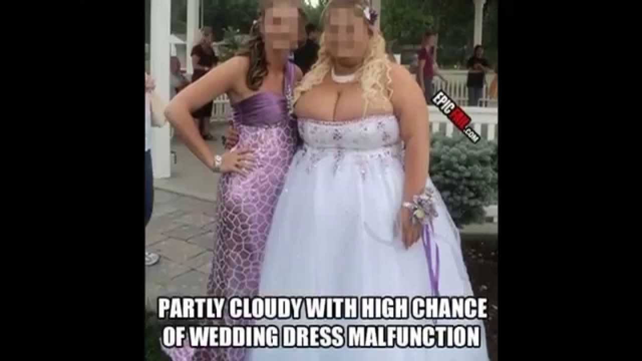 Here Is The Bride Wearing the Most UGLY Wedding Dresses ...