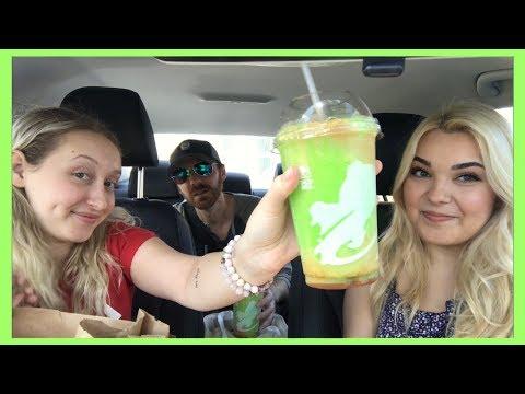 Taco Bell Caramel Apple Freeze MUKBANG  Random Taste Test 18