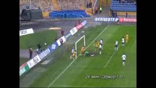 18 чемпионат Украины Металлист 1 1 Металлург Д 24 минута Эдмар 1 0