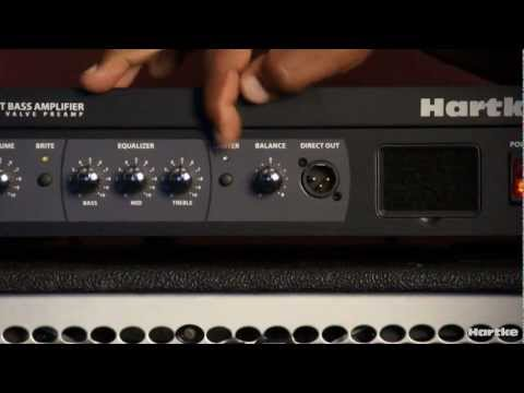 Victor Wooten playing and talking about the Hartke LH1000 Bass Amplifier