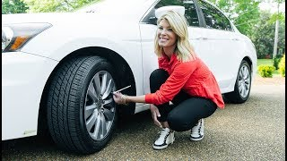 homepage tile video photo for Checking Your Tire Pressure with Landyn