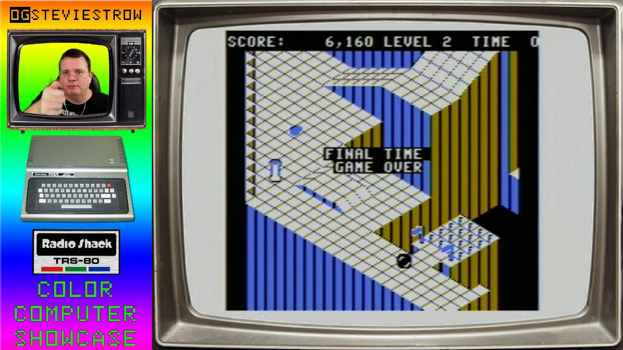 Marble Maze 1985 Trs 80 Color Computer Game Youtube