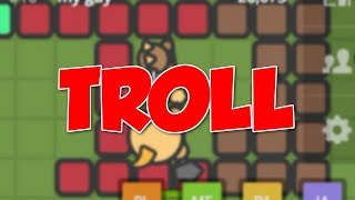 TRAPPING PLAYERS IN BASES TROLL | Zombs.io Trolling
