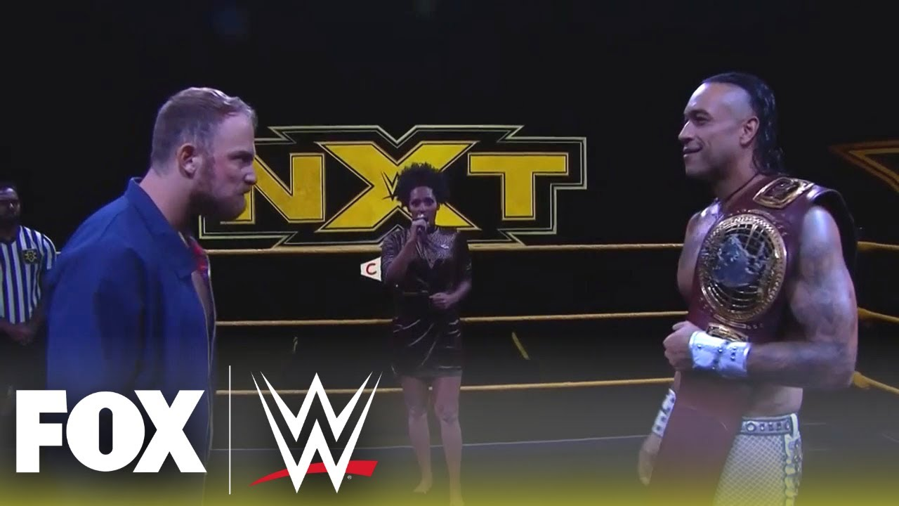 Damian Priest puts NXT North American Title on the line against Timothy Thatcher | NXT | WWE ON FOX