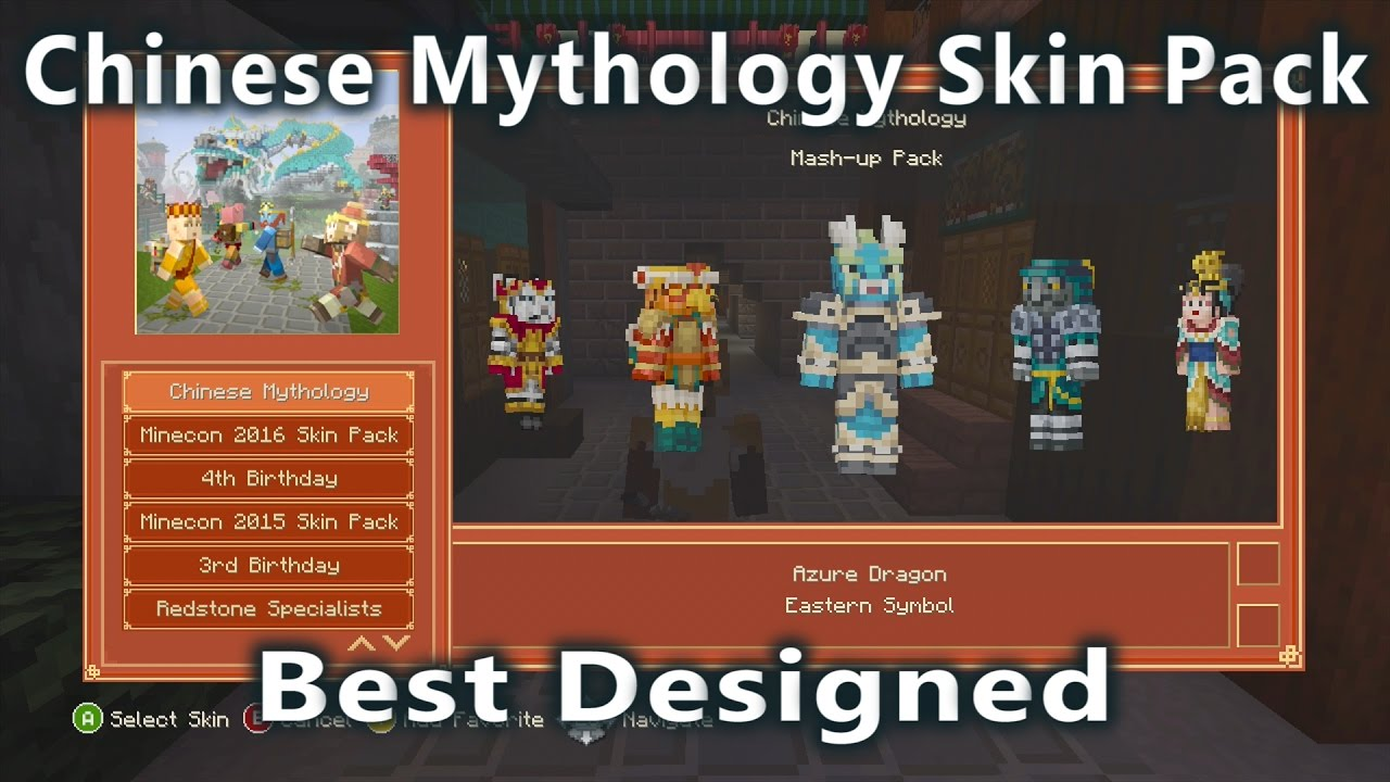 Minecraft chinese mythology skin pack best designed skin pack so minecraft chinese mythology skin pack best designed skin pack so far youtube buycottarizona Gallery