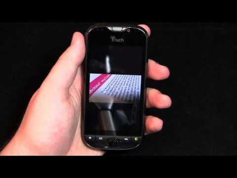 T-Mobile myTouch 4G Slide Review Part 2