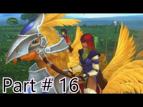 Final Fantasy X Remaster Walkthrough Part 16 - Mi'ihen Highroad