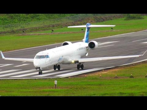 Penerbangan Pesawat Garuda Indonesia Tipe Bombardier CRJ1000 (Pesawat Terbang Garuda Indonesia)