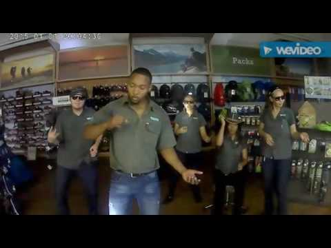 Skillet – invincible battle of the air bands. Outdoor Warehouse East London South Africa