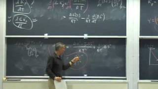 Lec 16 | MIT 5.60 Thermodynamics & Kinetics, Spring 2008