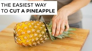 How-To Cut A Pineąpple | Clean & Delicious