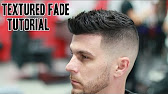 Fading Styling Thick Hair Like Sergio Aguero Barber Tutorial - Sergio aguero hairstyle tutorial