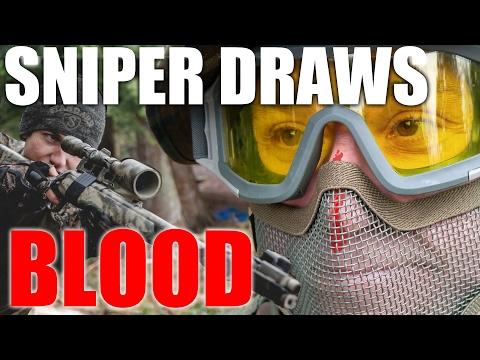 Airsoft Sniper Draws Blood | Canadian Sniper