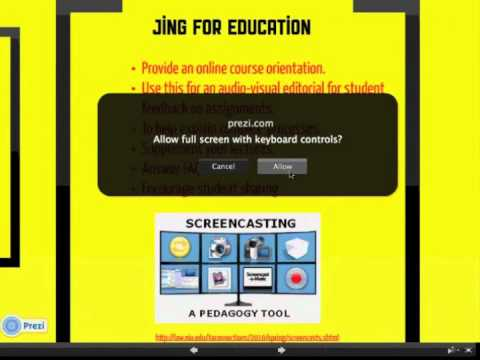 Screencasting with JING