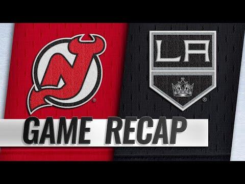 Hall, Devils beat Kings to snap losing streak