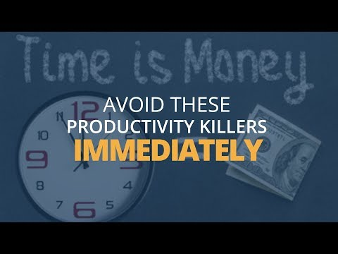 7 Little Habits That Kill Your Productivity at Work | Brian Tracy