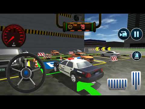 Police Car Parking: Free 3D Driving Games Android Game-Play [FHD]