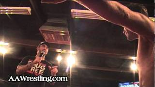 aaw wrestling cm punk crashes scars and stripes